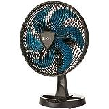 Ventilador New Windy, Preto/Azul, 110v, Cadence