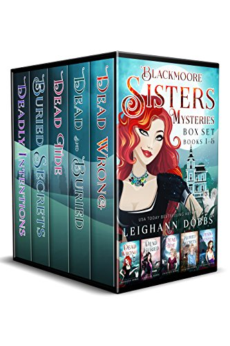 Blackmoore Sisters Cozy Mysteries Box-Set Books 1-5 Book Cover