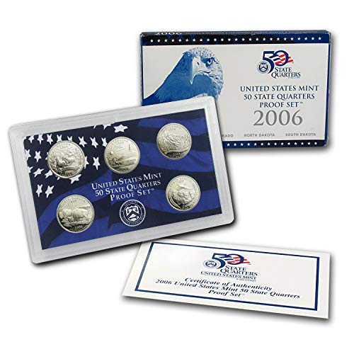 2006 50 State Quarters Proof Set Brilliant - Quarters 50 2006 State
