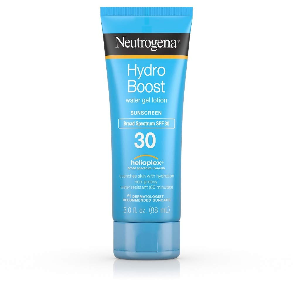 Neutrogena Hydro Boost Spf#30 Water Gel Sunscreen Lotion 3 Ounce (88ml) (2 Pack)