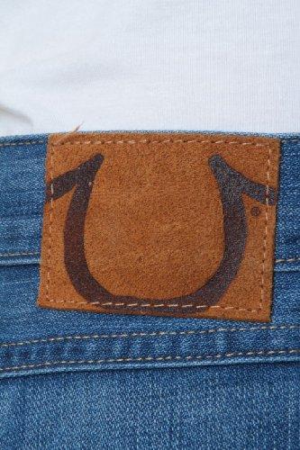 Boyfriend True Crop Jeans Snake Azul Eyes Lisa Religion C7q7H5S