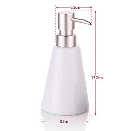 Amazoncom Ceramic Taper Shower DispensersPress Soap Dispenser - Bathroom detergent