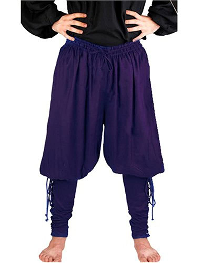 Pirate Captain Cottuy Royal Blue Pirate Pants Costume