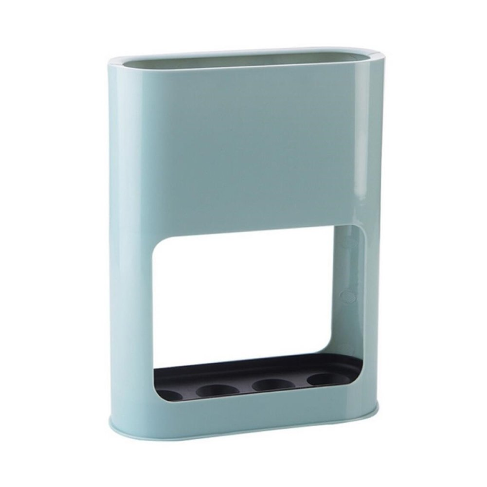 Portaombrelli rack [Solid color] Umbrella Holder Storage mensola per home office 22 * 9 * 28cm Blue Tabanlly