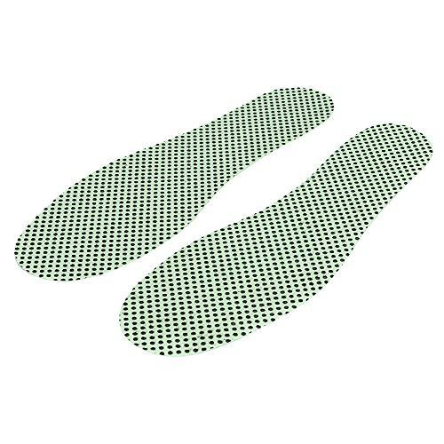(Xisheep-Spontaneous Heat Magnetic Massage Shoe Insoles Pad Therapy Acupressure Foot Care Cushion)
