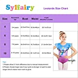 Sylfairy Leotards for Girls Gymnastics Unicorn