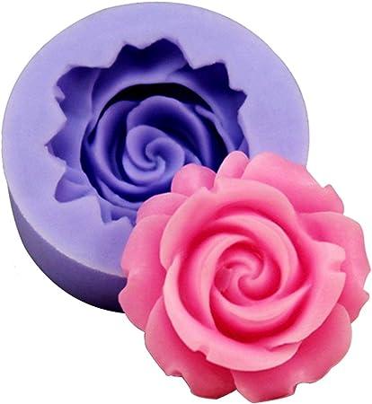 Moule /à P/âte Silicone Fleur D/écoration G/âteau P/âtisserie Couleur Al/éatoire
