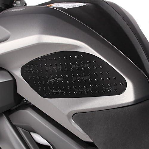 Seiten-Tankpad für Yamaha XJR 1300 Motea Grip M schwarz