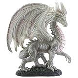 Wise Old Dragon Statue Figurine Display