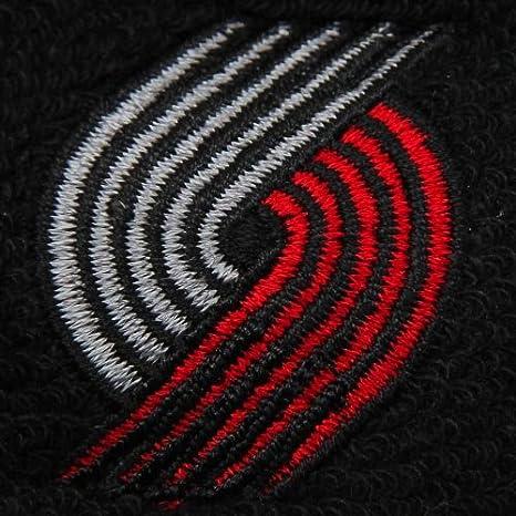 bc8ceb57b2305 Amazon.com : NBA adidas Portland Trail Blazers Black Headband ...