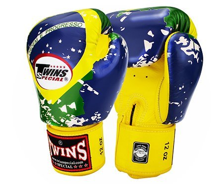 Twins Special Signature Fancy Boxing Gloves Velcro