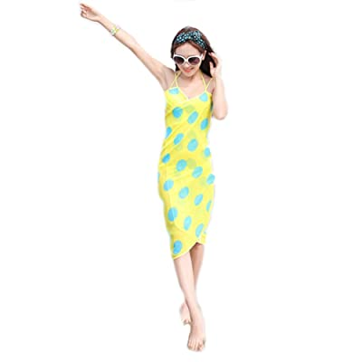 Seaside Beach Dress Joker Condole Belt Bikini Wrapped Yarn Printing Floral Skirt