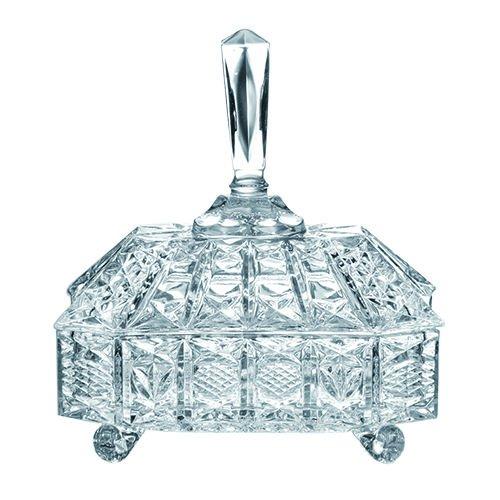 Bomboniere em Cristal Ecológico 21.5 cm, L'Hermitage TP-F5007B/BHA1, Multicor