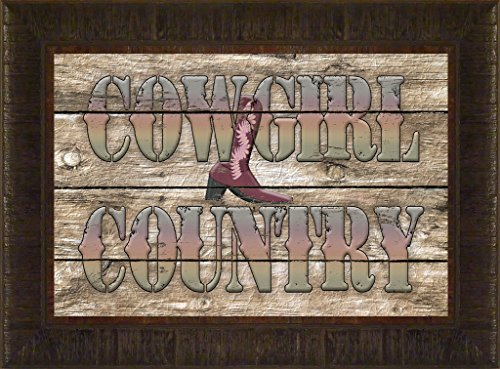 Cowgirl Country By Todd Thunstedt 17.5x23.5 Annie Oakley Side Winchester Remington Rifle Gun Pistol 22 Roy Rogers Wood Barn Farm Farmer Man Rodeo PRCA Association Stock Show Fort Worth Jackson - Wayne Preakness