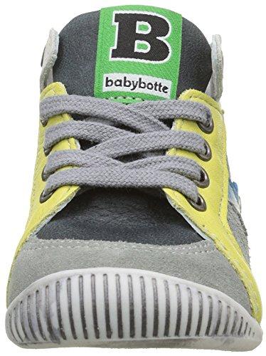 babybotte Feve - Zapatos de primeros pasos Bebé-Niñas Gris - Gris (012 Gris)