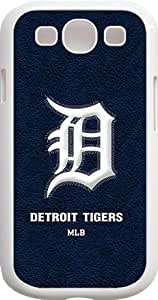 Onelee?? - MLB Team Logo, Detroit Tigers Logo Samsung GALAXY S3 Cases (White) - Detroit Tigers 1