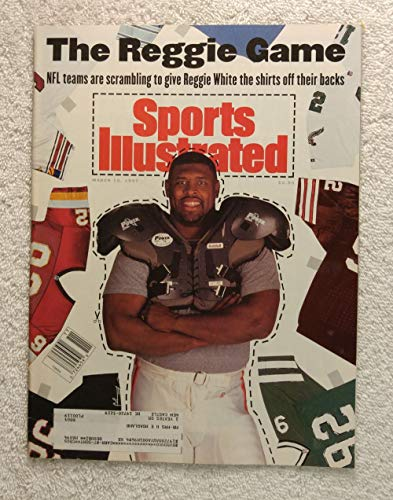 Reggie White - Philadelphia Eagles, Green Bay Packers - NFL teams are scrambling - Sports Illustrated - March 15, 1993 - SI