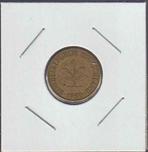 1950 Germany Five Oak Leaves Nickel Choice Extremely ()