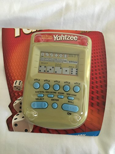 Parker YAHTZEE Electronic Handheld Game/SPECIAL EDITION C...