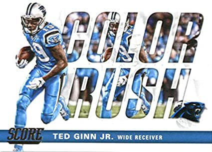 size 40 73ad0 34bff Amazon.com: 2017 Score Color Rush #12 Ted Ginn Jr. Carolina ...
