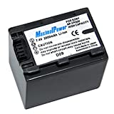Maximal Power DB SON NP-FP90/FP91 Replacement Battery for Sony Digital Camera Camcorder (Gray)