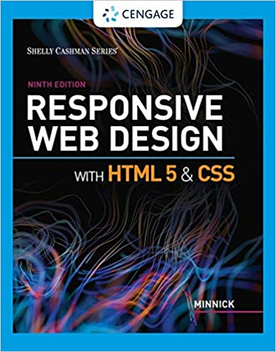 Responsive Web Design With Html 5 Css Mindtap Course List Minnick Jessica 9780357423837 Amazon Com Books