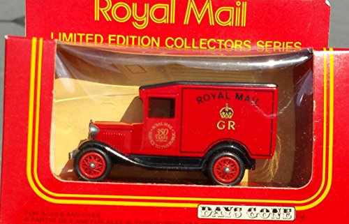 [1983 LLEDO DAYS GONE BY ROYAL MAIL FORD DELIVERY VAN TRUCK in Diecast Metal] (Van Royal Mail)