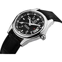 Gosasa Tritium Luminous Military Dive Sports Waterproof Quartz Mens Watch Black Dial Male Watches