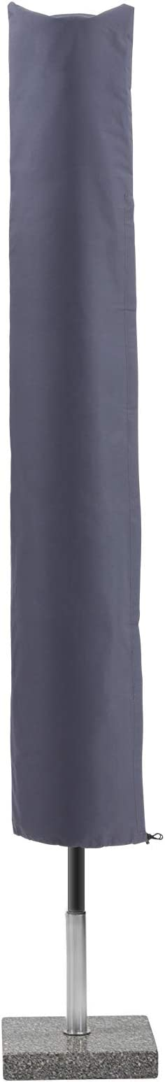 Tessuto Oxford 600D Impermeabile SONGMICS Copertura Ombrellone con Bacchetta Cerniera Anti-Sbiadimento Grigio GFC183GY 183 x 25//35cm Telo Protettivo per Ombrelloni Fino a 3m