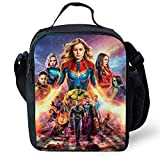 Best Marvel Mens Lunch Boxes - Jacobera Insulated Lunch Bag, Avengers Endgame Iron Man Review