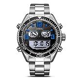Romacci Men Sport Quartz Watch 3ATM Water-resistant Luminous Wristwatch Chronograph