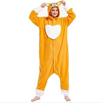 SHANGXIAN Adulto Perro Onesies Pijama Unisexo Animal Ropa De Dormir Mono Cosplay Disfraz,XL