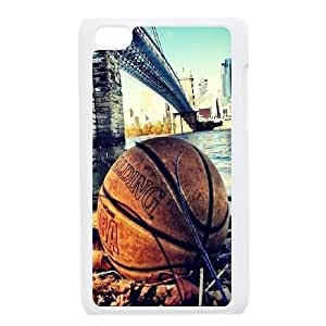 basketball Design Top Quality DIY Hard Case Cover for iPod Touch 4, basketball iPod Touch 4 Phone Case