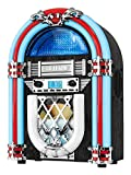 Best Cd Players - Victrola Retro Desktop Jukebox with CD Player, FM Review