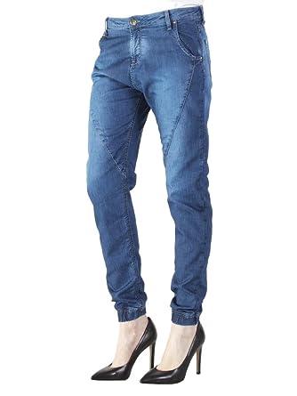 Carrera Jeans - Jogger Vaqueros Baggy para Mujer, Tiro caído ...