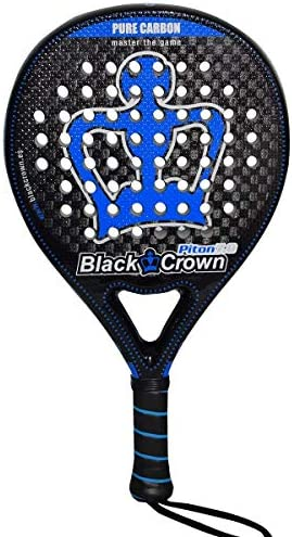 Pala de Pádel Piton 7.0 | Black Crown | Nivel: Avanzado ...