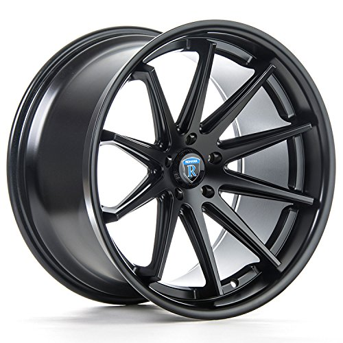 One 19x8.5 Rohana RC10 5x114.3 35 Matte Black Wheel fit IS GS LS Lexus S2000 Evo