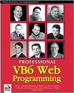 Professional Visual Basic 6 Web Programming: Paul Wilton, Thearon