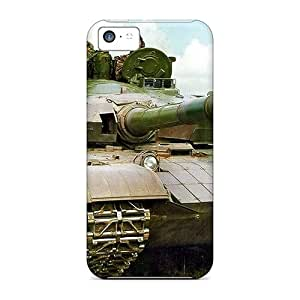 Iphone 5c Case Cover - Slim Fit Tpu Protector Shock Absorbent Case (pla Type 99 Mbt)