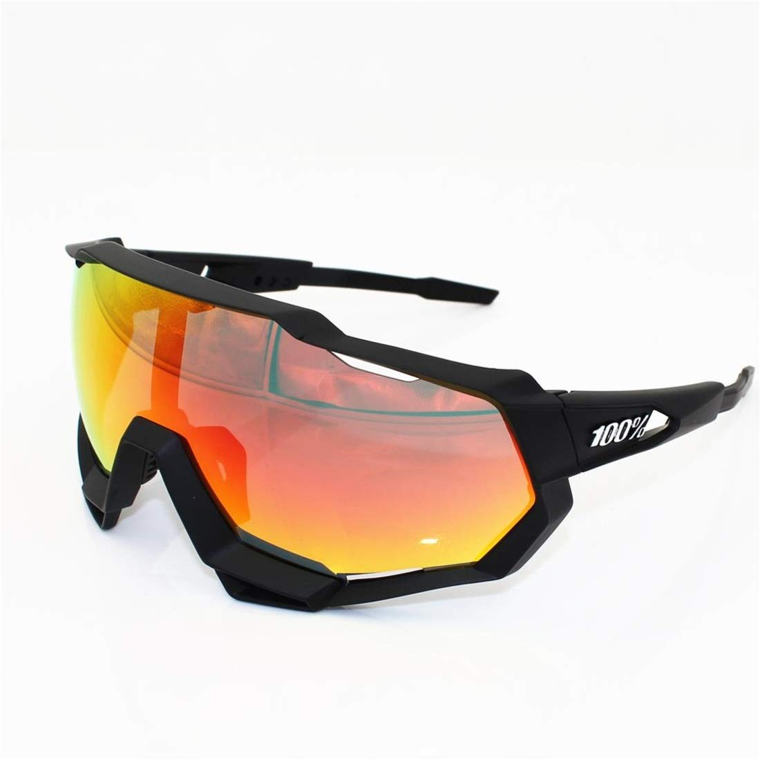 BAOYIT Cycling Glasses Bicycle Running Mountaineering Windproof Sand Glasses for Women Men (Color : B) by BAOYIT