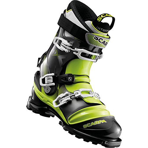 Scarpa Terminator X Ski Boots Anthracite Lime 27 5