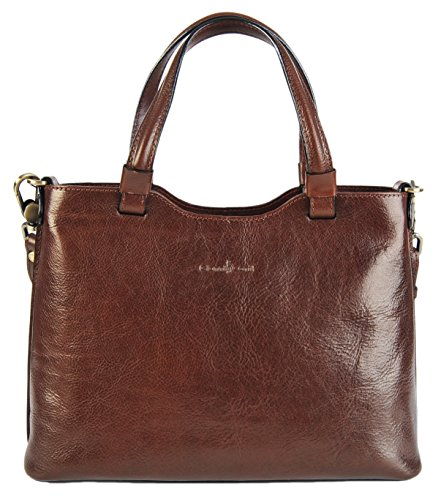 Gianni Conti Borsa a spalla donna Brown
