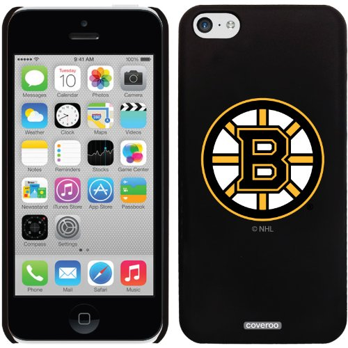 Coveroo Thinshield Snap-On Case for iPhone 5c - Retail Packaging - Boston Bruins - Primary Logo Design