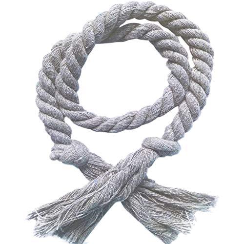 (Wingbind Curtain Rope Tiebacks,Rustic Handmade Tassel Decorative Tiebacks 2pcs)