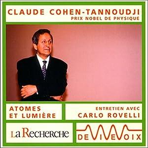Claude Cohen-Tannoudji Discours