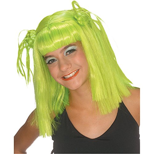 [Rubie's Costume Lime Twist Wig, Green, One Size] (Bulma Costume)