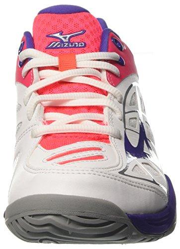 White Divapink Damen W Wave Liberty Mehrfarbig Tennisschuhe Exceed Ac 67 Mizuno z0OqxRff