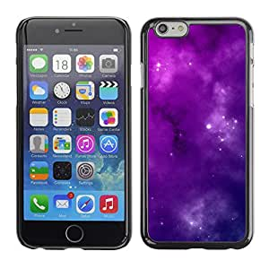 Planetar® ( Solar Purple Clouds ) Apple iPhone 6 / 6S (4.7 inches!!!) Fundas Cover Cubre Hard Case Cover
