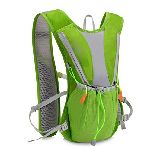 Small Handy Waterproof Travel green Backpack Orange Lightweight 8xzq8ArwgI
