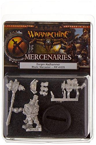Privateer Press - Warmachine - Mercenary: Durgen Madhammer Model Kit